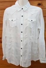 Ariat Ariat Buffalo Snap Shirt - White - Size M
