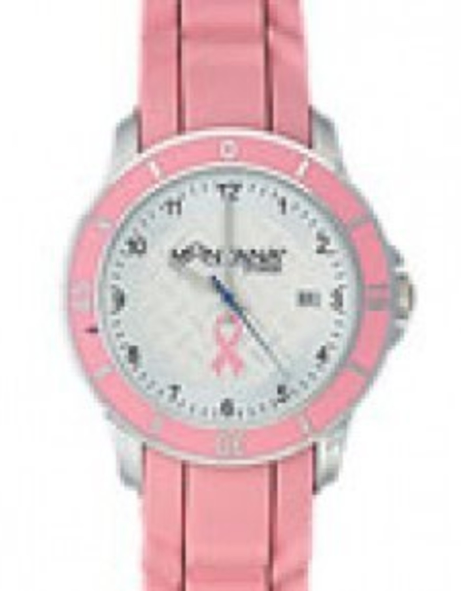 Montana Silversmiths Breast Cancer Pink Ribbon Ladies Watch Pink MT1381