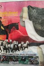 Endurance Combo Saddle Blanket with 2 Removable Quilted Saddle Blankets - Black