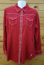 Ariat Ariat Diana Snap Shirt Rouge Size M