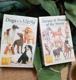 Dogs of the World Playing Card