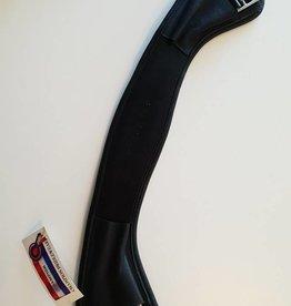 Champion Leather Curved Dressage Girth - Black - 65