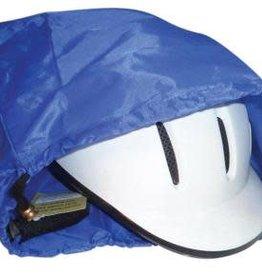 Helmet Dust Cover Bag with Drawstring - Blue