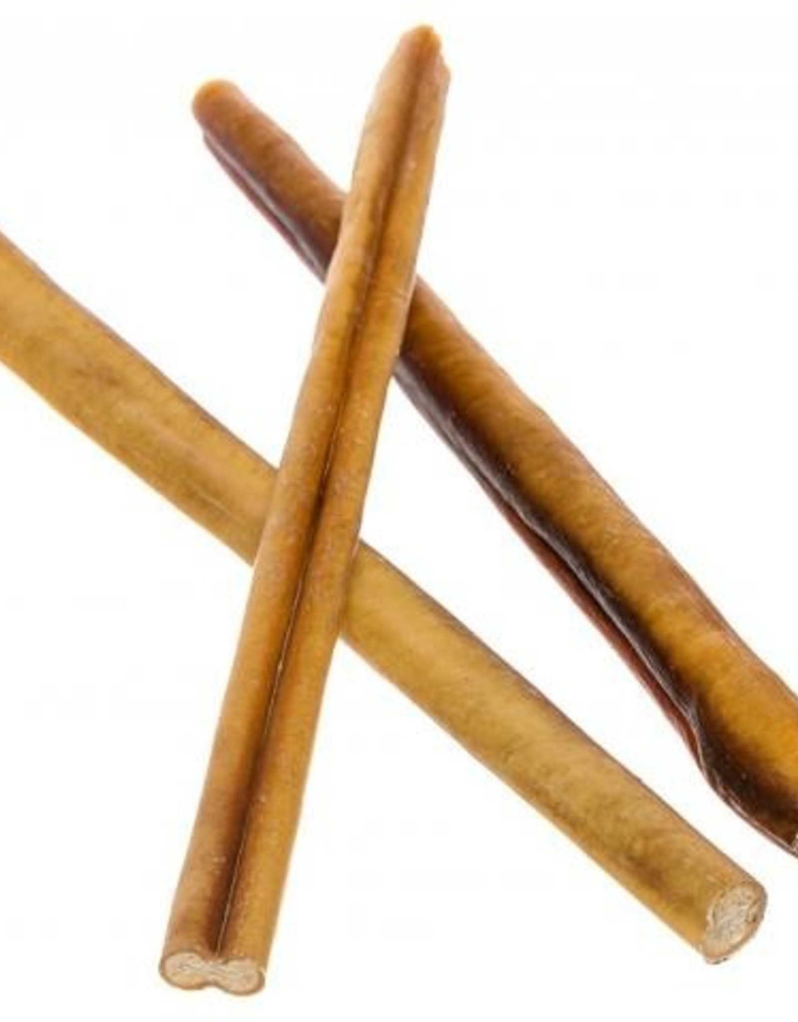 """12"""" straight bully stick - 5 pack"""