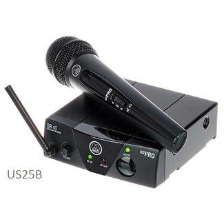 AKG AKG WMS 40 Mini Système Sans-Fil Émetteur Main - Fréquence US25B