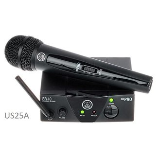 AKG AKG WMS40 UHF Handheld Wireless System - Frequency 25A