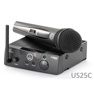 AKG AKG WMS 40 mini système sans-fil UHF à émetteur main - Fréquence US25C