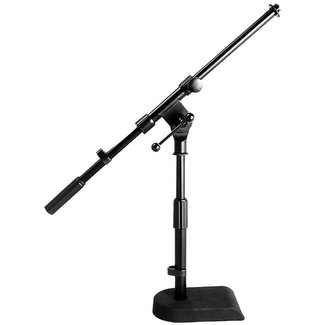 On Stage Stands On Stage Stands MS7920B pied de microphone court avec perche - Noir