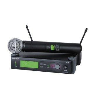 Shure Shure SLX système sans-fil à émetteur main SM58 - Fréquence G5 (494-518 mhz)