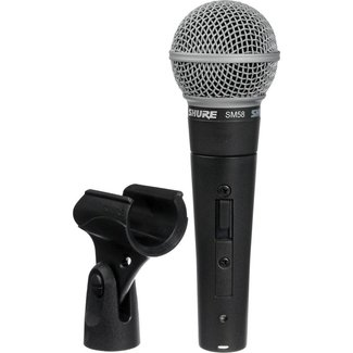 Shure Shure SM58S dynamic cardioid microphone with on/off switch