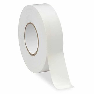 Ruban adhésif PVC - Blanc