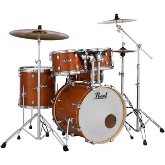 Pearl Pearl Export EXL ensemble de batteries 5 morceaux - Finition miel (Supports et Cymbales non-inclus)