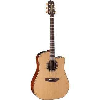 Takamine Takamine Pro P3DC Acoustic / Electric Guitar With Hardshell Case - Natural
