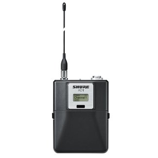 Shure Shure Axient AD1 bodypack transmitter, TA4M connector - Frequency G57 (470-616Mhz)