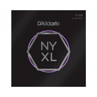 D'Addario D'Addario NYXL1149 ensemble cordes guitare électrique - 11/49
