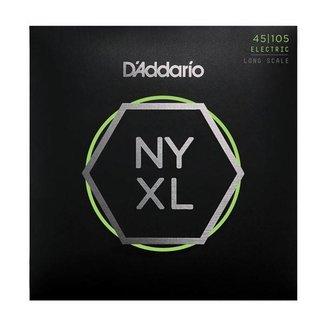 D'Addario D'Addario NYXL45105 ensemble 4 cordes pour basse - 45/105