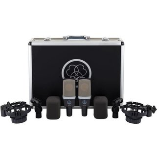 AKG AKG C414 XLS microphones condensateurs large-diaphragme multi-applications (Paire stéréo)