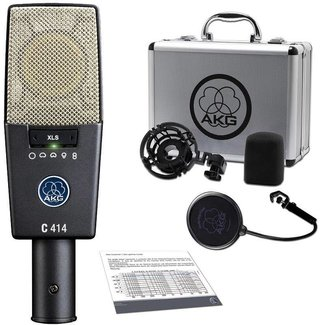 AKG AKG C414XLS microphone studio condensateur large diaphragme multi-applications