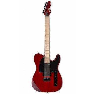 ESP LTD ESP LTD LTE200MSTBC Guitare Électrique - Rouge Translucide