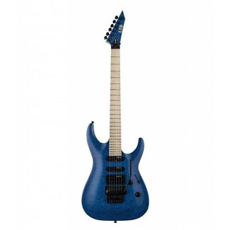 ESP LTD ESP LTD LMH203QMSTB Electric Guitar - Trans Blue
