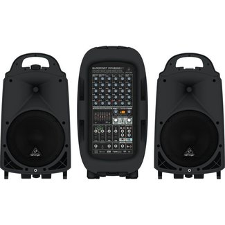 Behringer Behringer Europort PPA2000BT 2000W Portable PA System with Bluetooth & FX
