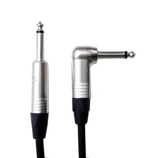 Digiflex Digiflex Tourflex NGP-3 1/4'' to right angle 1/4'' instrument cable - 3'