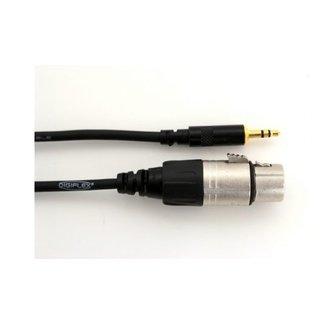 Digiflex Digiflex Performance HKXF-3 male 1/8'' trs to female 3-pin XLR cable adapter - 3'