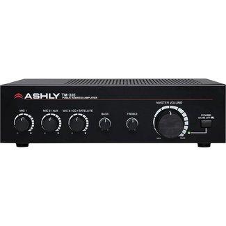 Ashly Ashly TM-335 public address amplifier / mixer 70v - 35w