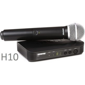 Shure Shure BLX handheld wireless system with PG58 microphone - Frequency H10