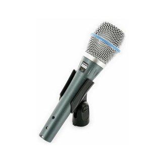 Shure Shure Beta87A microphone à condensateur supercardioide pour la voix