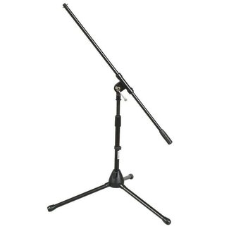 On Stage Stands On Stage Stands MS7411B pied de microphone court avec perche - Noir