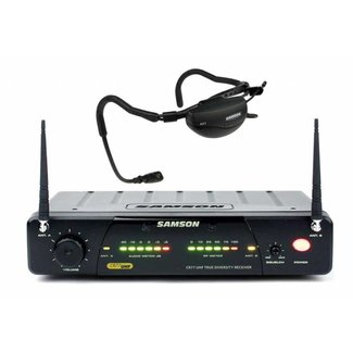 Samson Samson SW7A7SQE Airline 77 fitness headset wireless system - Frequency K2 (490.975MHz)