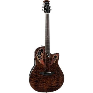 Ovation Ovation CE48P ''Celebrity Elite'' Guitare Électro-Acoustique - Tiger Eye