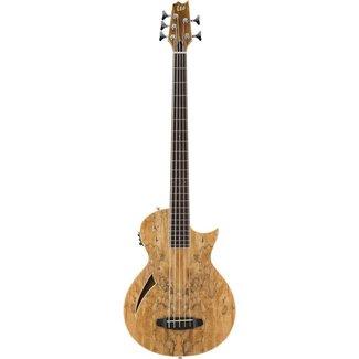 ESP LTD ESP LTD TL-5SM Thinline Series 5-String Acoustic-Electric Bass - Natural Gloss