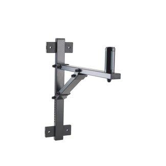 Konig & Meyer Konig & Meyer 24110 Adjustable Speaker Wall Mount - Black