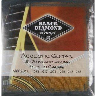 Black Diamond Black Diamond N8020M Ensemble Cordes Guitare Acoustique 13-56
