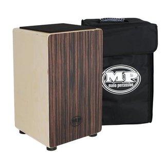 Mano Percussion Mano Percussion MP985E Cajun Placage Ébène avec Sac de Transport