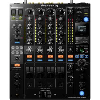 Pioneer Pioneer DJM-900NXS2 4-Channel Digital Pro DJ Mixer - Black