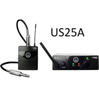 AKG AKG WMS 40 Mini Système Sans-Fil Instrument Émetteur de Ceinture - Fréquence US25A