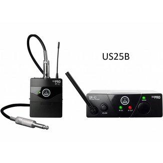 AKG AKG WMS 40 Mini Système Sans-Fil Instrument Émetteur de Ceinture - Fréquence US25B