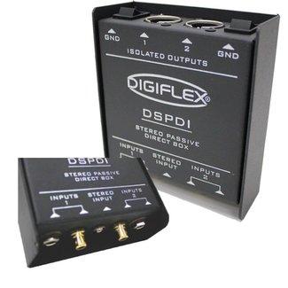 Digiflex Digiflex DSPDI Stereo Passive Direct Box