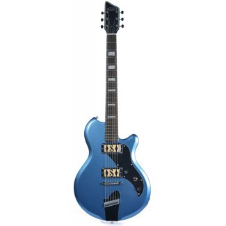 Supro Supro 2020BM Westbury Ocean Blue Metallic Electric Guitar