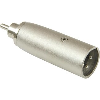 STM STM Audio Male XLR To Male RCA Adapter