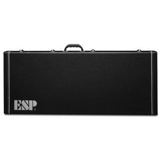 ESP LTD ESP CMHXLFFLH Étui Régide Extra Long Pour Guitare Gauchère 7 et 8 Cordes Série MH
