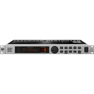 Behringer Behringer FBQ1000 Automatic Ultra-Fast Feedback Destroyer / Parametric EQ With 24 FBQ Filters