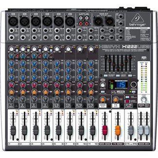 Behringer Behringer Xenyx X1222USB 16-Input Audio Mixer With FX & USB