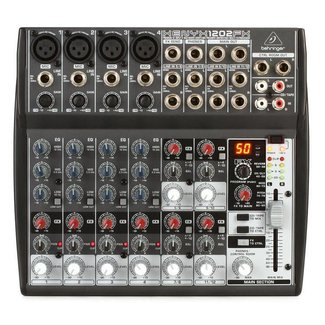 Behringer Behringer Xenyx 1202FX 8-Channel Audio Mixer With FX