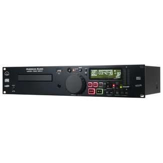 American Audio American Audio UCD100-MKIII Rackmountable Single CD/MP3/USB Player