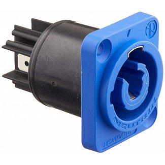 Neutrik Neutrik NAC3MPA-1 AC Powercon Receipt-In, Blue