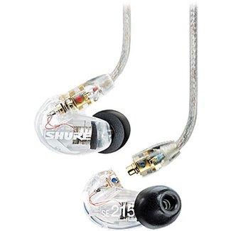 Shure Shure SE215 Écouteurs à Isolation Sonore Simple Haut-Parleur - Translucide
